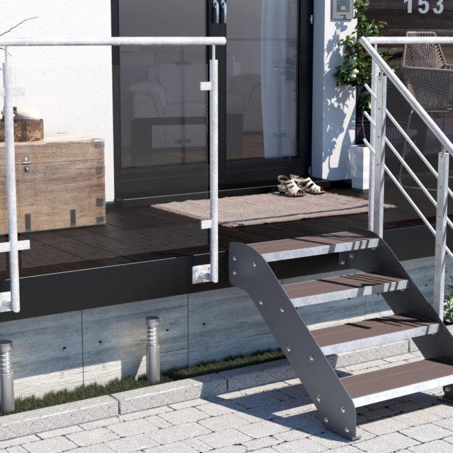 feuerverzinkte stahl au entreppe im online shop treppen werk. Black Bedroom Furniture Sets. Home Design Ideas