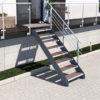 Aussentreppe-Altona-II_8-Stufen_WPC-braun_1-Gelaender