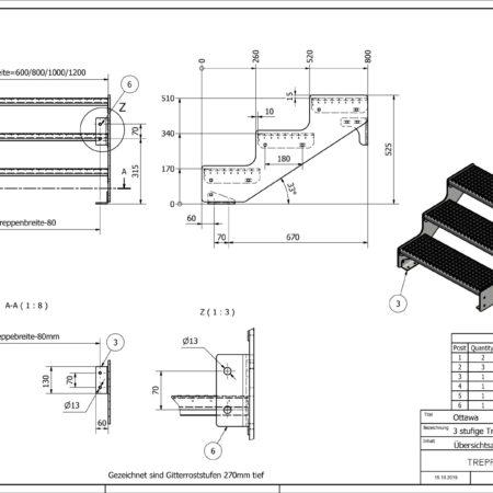 Aussentreppe-Ottawa-3-Stufen-technische-Zeichnung