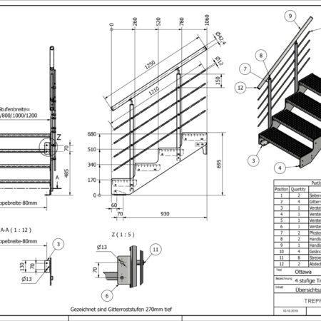 Aussentreppe-Ottawa-4-Stufen-technische-Zeichnung