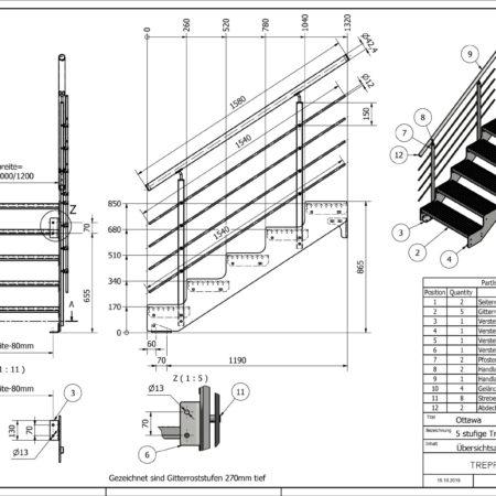 Aussentreppe-Ottawa-5-Stufen-technische-Zeichnung