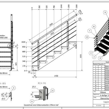 Aussentreppe-Ottawa-6-Stufen-technische-Zeichnung