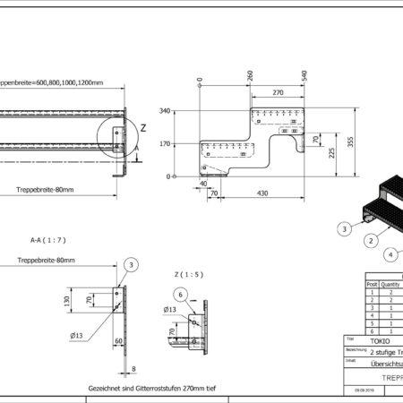 Aussentreppe-Tokio-2-Stufen-technische-Zeichnung
