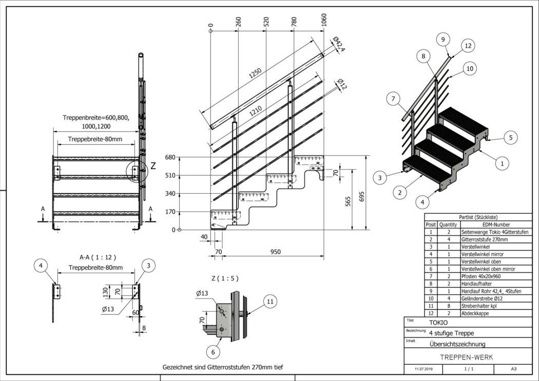 Aussentreppe-Tokio-4-Stufen-technische-Zeichnung