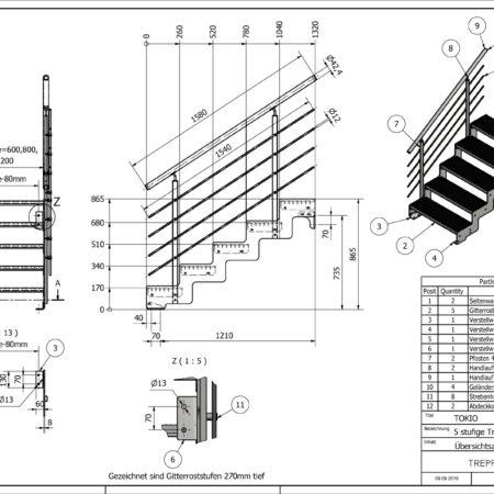 Aussentreppe-Tokio-5-Stufen-technische-Zeichnung