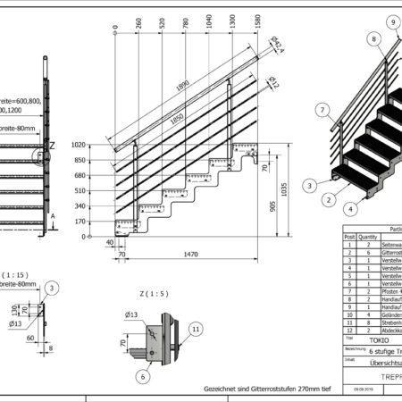 Aussentreppe-Tokio-6-Stufen-technische-Zeichnung