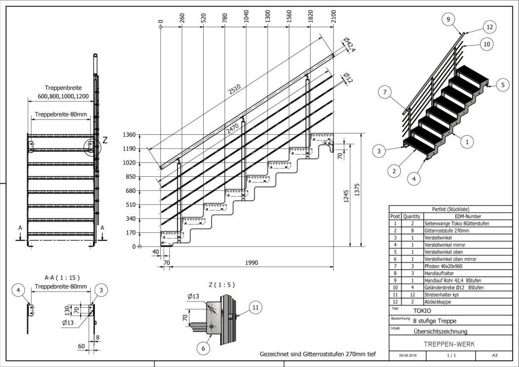 Aussentreppe-Tokio-8-Stufen-technische-Zeichnung