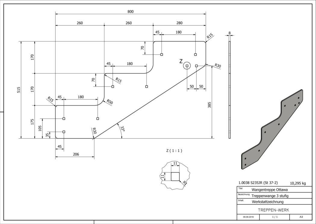Seitenwange-Aussentreppe-Ottawa-3-Stufen-technische-Zeichnung