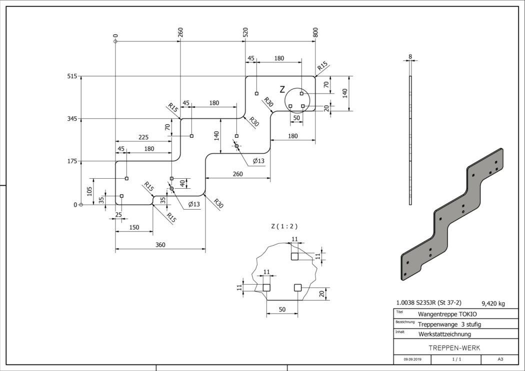 Seitenwange-Aussentreppe-Tokio-3-Stufen-technische-Zeichnung