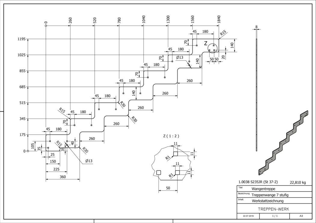 Seitenwange-Aussentreppe-Tokio-7-Stufen-technische-Zeichnung